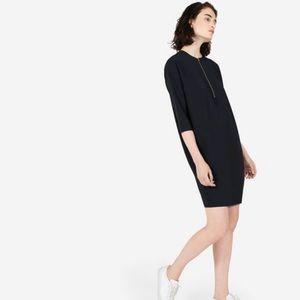 •Everlane• 'Japanese Goweave' Front Zip Dress